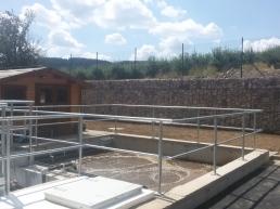 Horní Loučky - kanalizace a ČOV