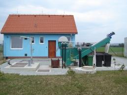 Likvidace odpadních vod Radslavice - ČOV a kanalizace