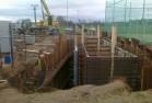 Štětovaná stavební jáma